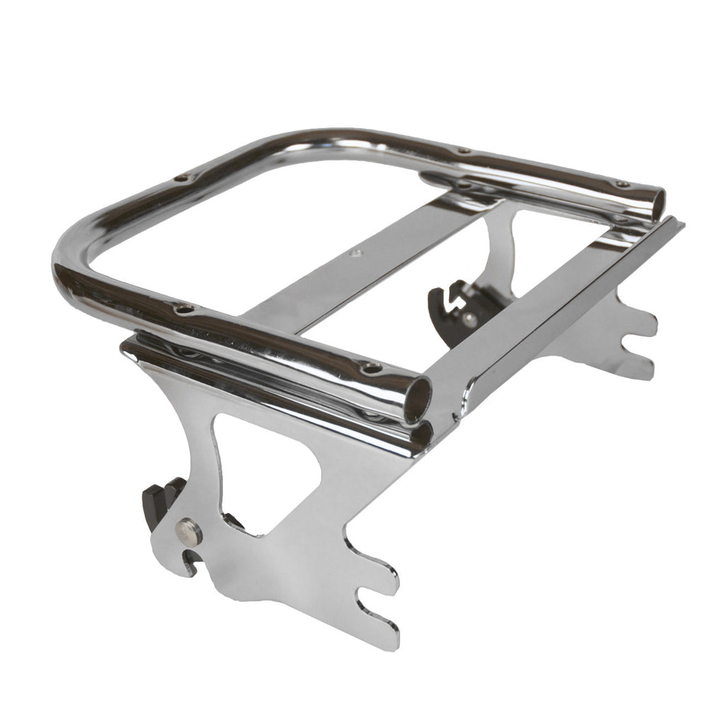 Detachable Two Up Style Tour Pack Mounting Rack For Harley