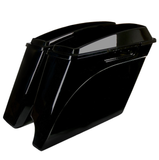 "4"" Stretched Extended Saddlebags for Harley Davidson (1993-2013)"