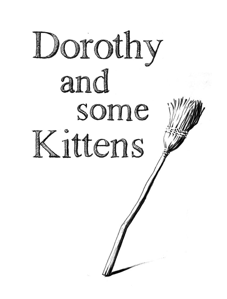 Dorothy and Some Kittens by Dorothy Albertini