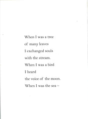 When I Was a Tree by Dina Bursztyn