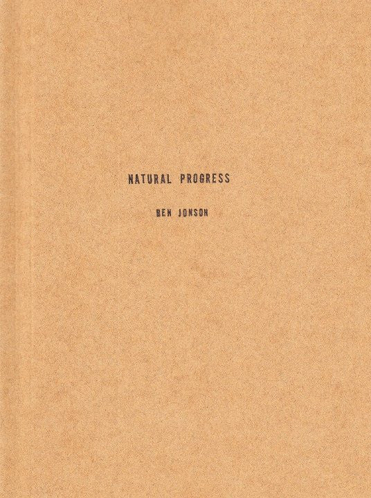 Natural Progress by Ben Jonson