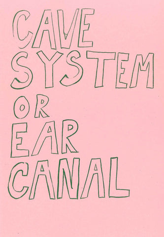 Cave System or Ear Canal by Halsey Rodman