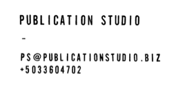 Publication Studio
