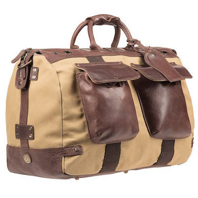 Traveler Duffle // Tan + Brown - Mick & Kip - 3