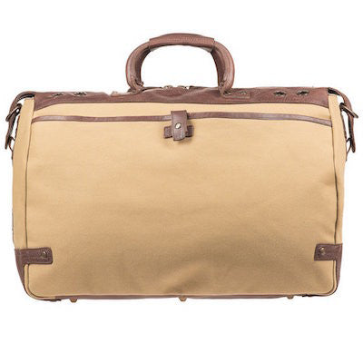 Traveler Duffle // Tan + Brown - Mick & Kip - 4
