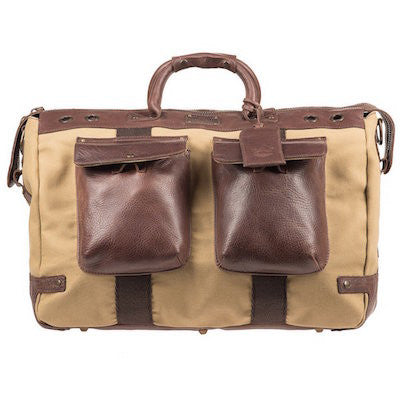 Traveler Duffle // Tan + Brown - Mick & Kip - 1