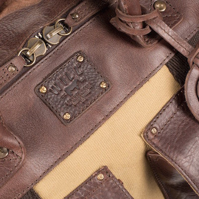 Traveler Duffle // Tan + Brown - Mick & Kip - 5