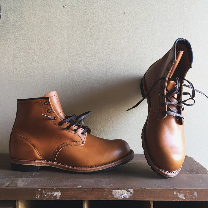 "RED WING SHOES BECKMANN ROUND 6"" // CHESTNUT"