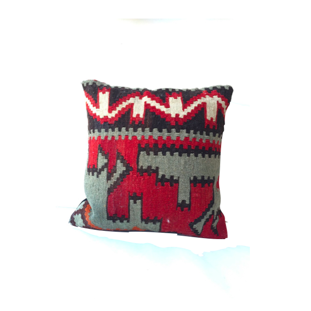 Kilim Pillow No. 4 - Mick & Kip