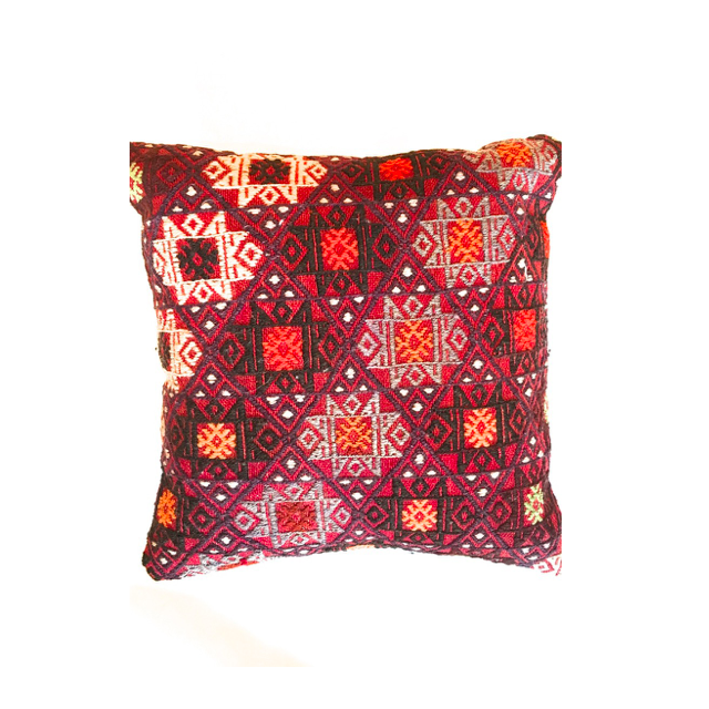 Kilim Pillow No. 6 - Mick & Kip