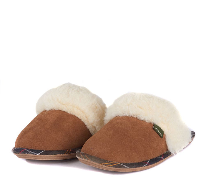 Lydia Mule Slipper in Camel