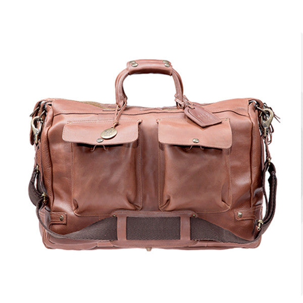 Leather Travel Duffle // Tan - Mick & Kip