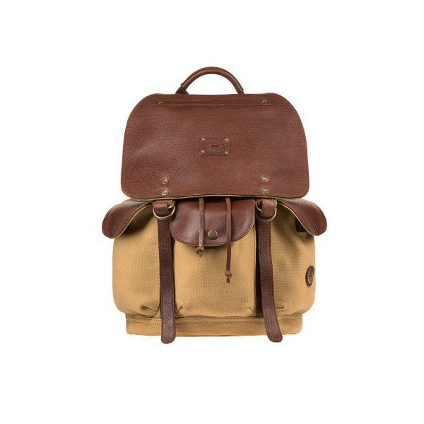 Lennon Backpack // Tan - Mick & Kip