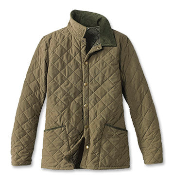 Bridle Quilted Jacket in Clay