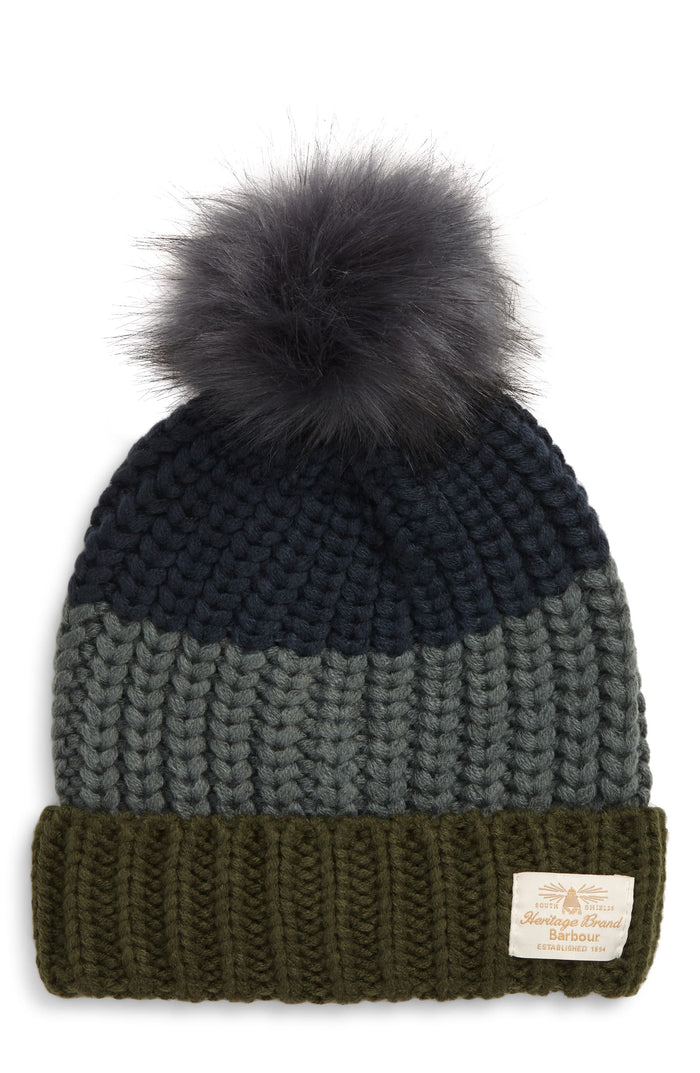 Modern Country Beanie in Sage
