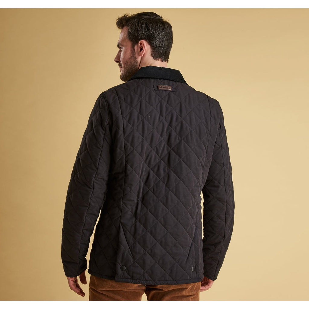 Bridle Quilted Jacket in Navy