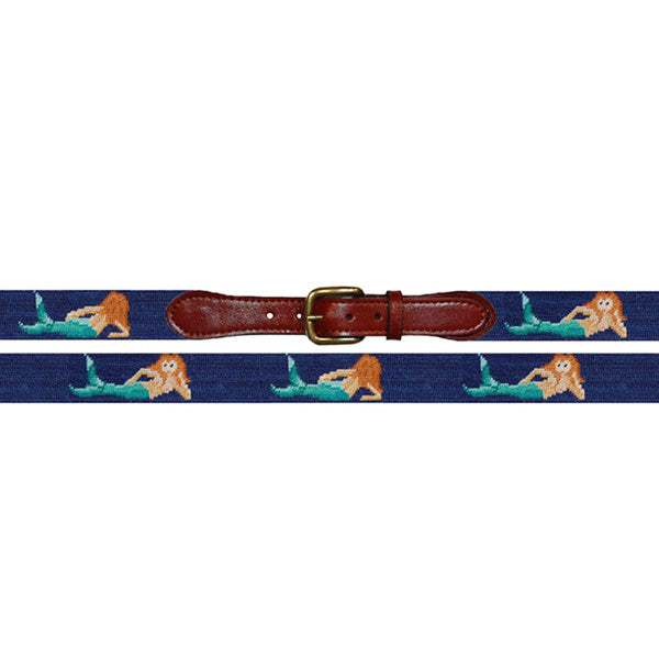 Needlepoint Belt // Mermaid - Mick & Kip