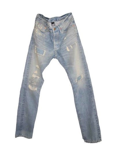 Ozzy Slim Straight Denim // Tibet Wash - Mick & Kip