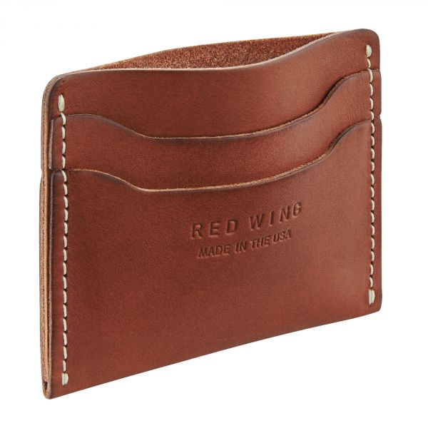 Leather Card Holder in Brown