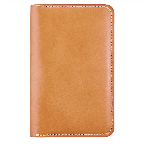 Passport Wallet in Natural Leather
