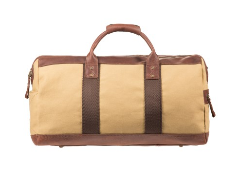 Atticus Duffle // Tan and Brown - Mick & Kip - 1