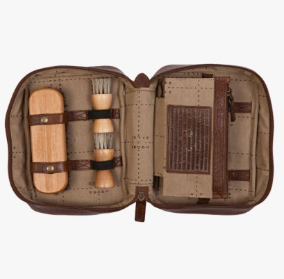 Griffin Shoe Shine Kit // Titan Milled Brown - Mick & Kip - 2