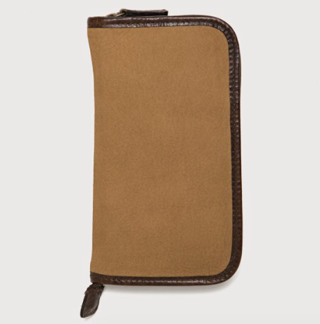 Accessories Case // Nubuck Bison Tan - Mick & Kip - 2