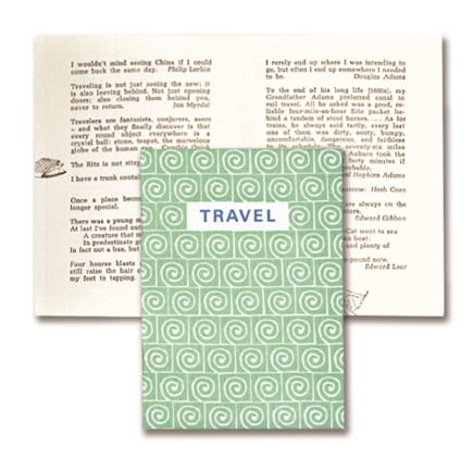 Miniature Book // Travel - Mick & Kip