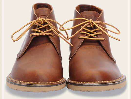 RED WING SHOES WEEKENDER CHUKKA // COOPER - Mick & Kip - 3