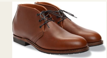RED WING SHOES BECKMANN CHUKKA // TEAK - Mick & Kip - 2