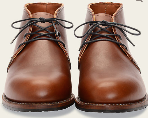 RED WING SHOES BECKMANN CHUKKA // TEAK - Mick & Kip - 3