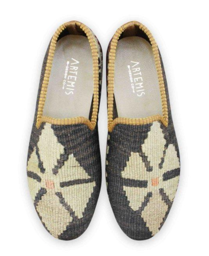 SIZE 41 (US 8) MEN'S KILIM SMOKING SHOE