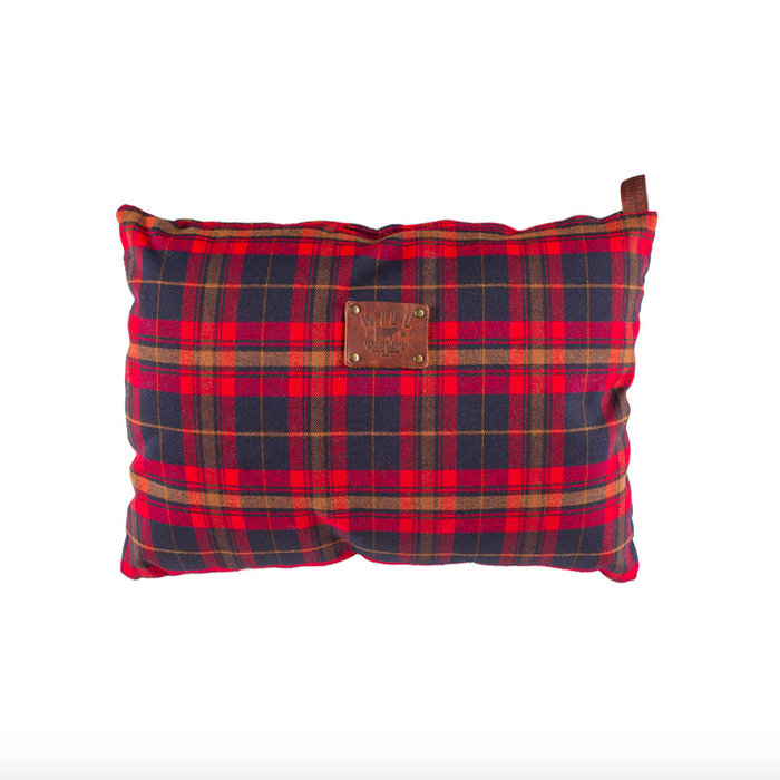 Plaid Travel Pillow - Mick & Kip
