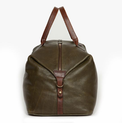 Benedict Weekend Bag // Titan Milled Olive - Mick & Kip - 3