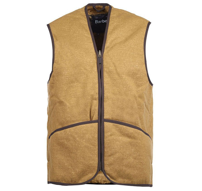 Barbour Warm Pile Waist Coat - Zip In Liner