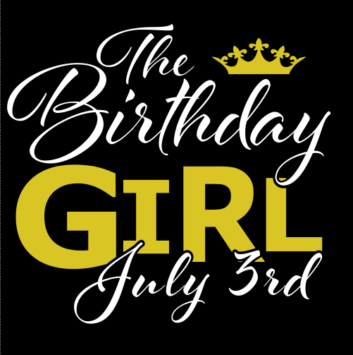 Custom shirt - Birthday Girl