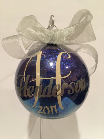 Personalized Christmas Ornament - Unbreakable Memories