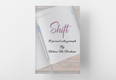 Shift - 30 Journal Writing Prompts (journal book)