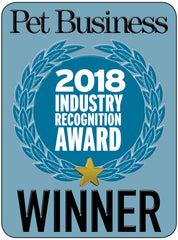 Pet Business 2018 Industry Recognition Award Winner!