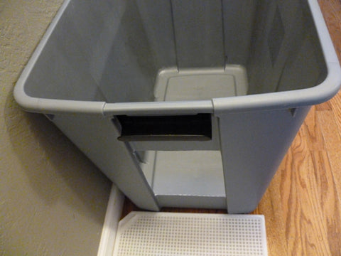 Home made litter box