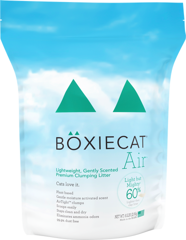 Boxiecat Air Lightweight Gently Scented Premium Clumping Litter 6.5 lb Bag Front