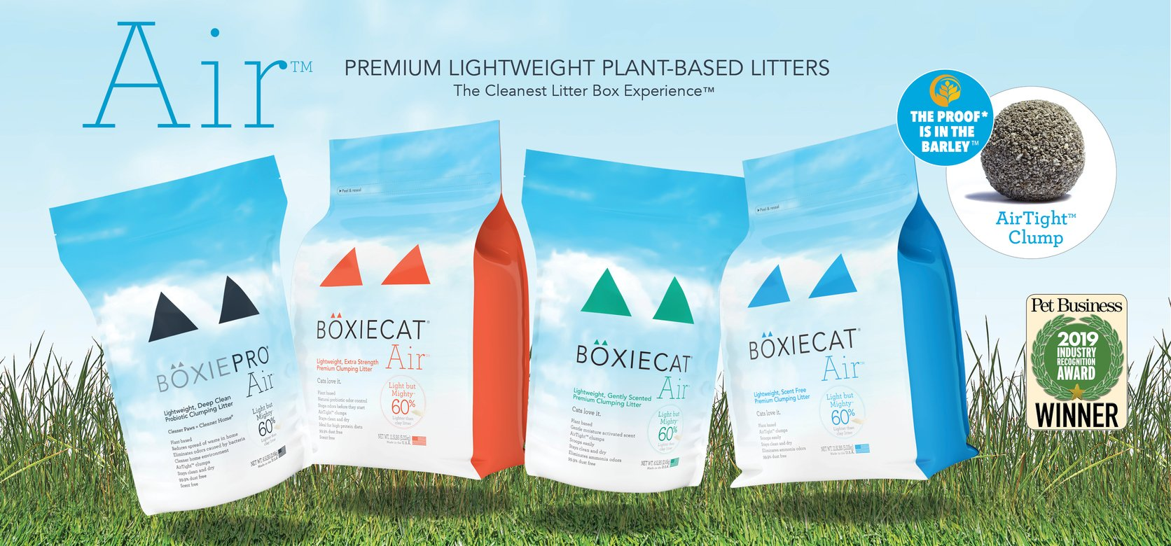 Boxiecat Air Lightweight Cat Litter