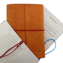 Full Grain Leather Full Grain Leather Journal in Natural Color. Full Pack