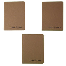 Banana Paper Pocket Notebook (3.5'' x 5'') - Tree & Acid-Free Paper - Kraft Cover