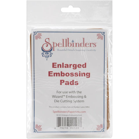 Spellbinders - Enlarged Embossing Pads