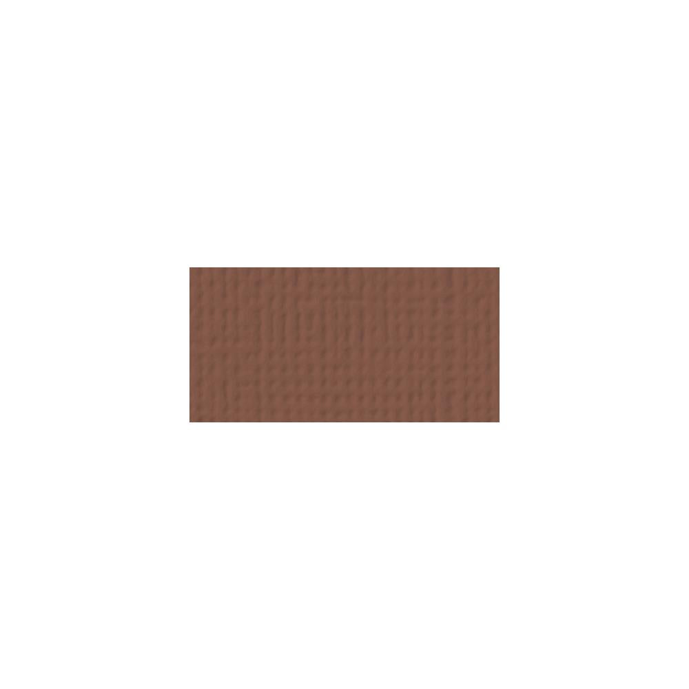 American Crafts 12x12 Cardstock  - Chocolate