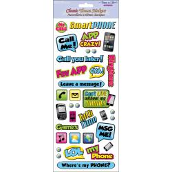 Forever In Time - Classic Theme Clear Stickers - My Smart Phone