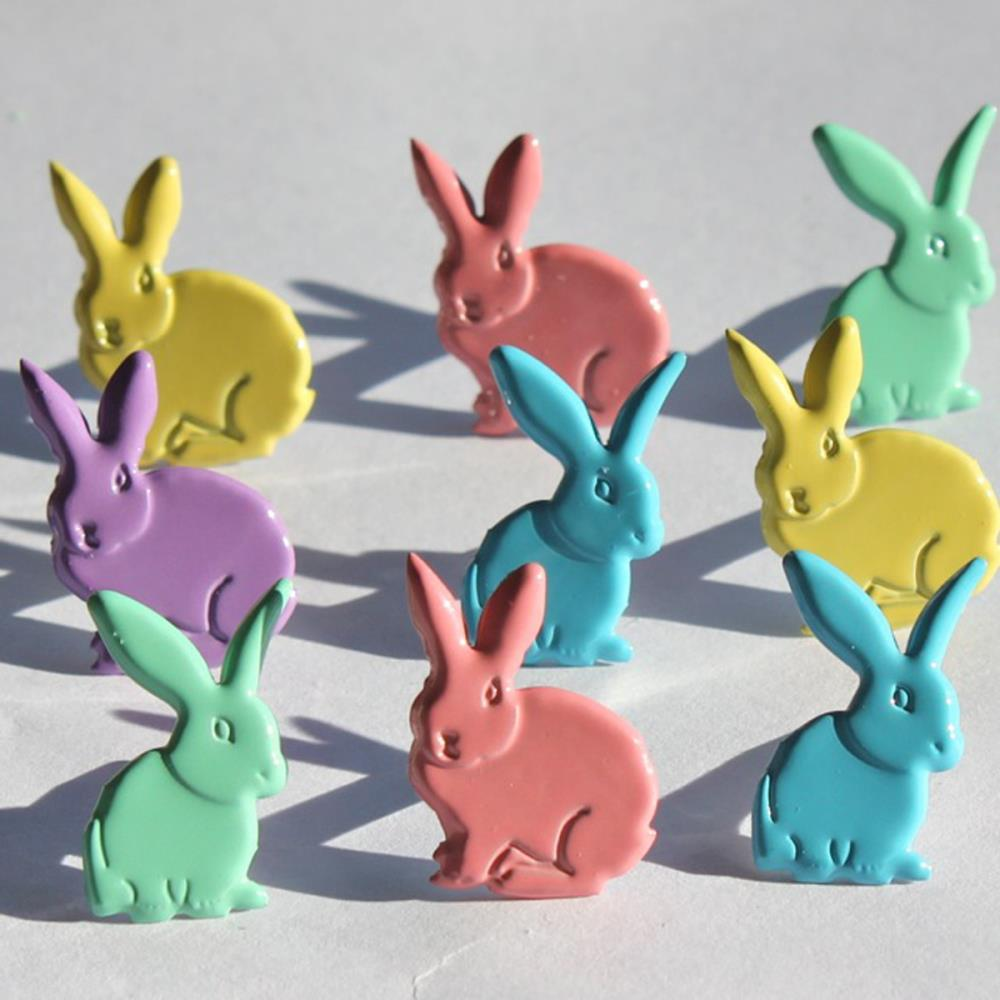 EyeLet OutLet - Pastel Rabbit Brads