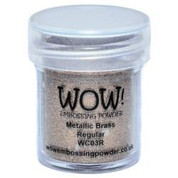 WOW Embossing Powders - Metallic Brass
