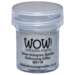 WOW Embossing Powders - Silver Hologram Sparkle Embossing Glitter